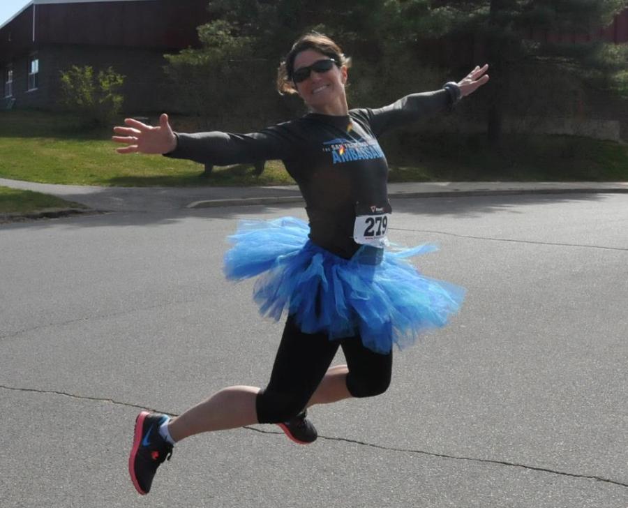 Pre-Boston Marathon  Club Run 5K