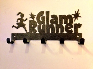 Glam Runner Race Medal Rack